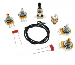 Allparts SC-Style Short Pot Wiring Kit