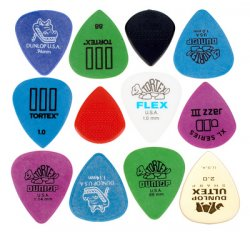 Dunlop Electric Pick Variety Pack